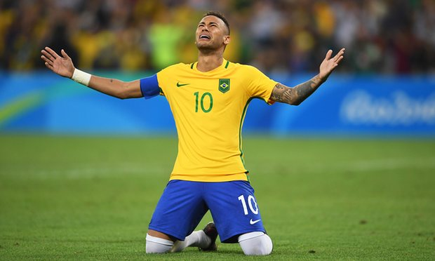 Neymar the shootout hero blasts Brazil to Olympic football gold against Germany