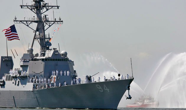 Iran Vessels 'Intercept' U.S. Ship, Defense Official Says