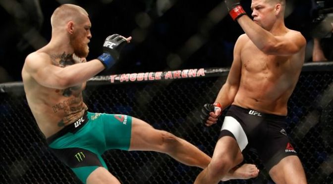 Conor McGregor Beats Nate Diaz by Decision at UFC 202 in a Classic Fight No One Wanted to End