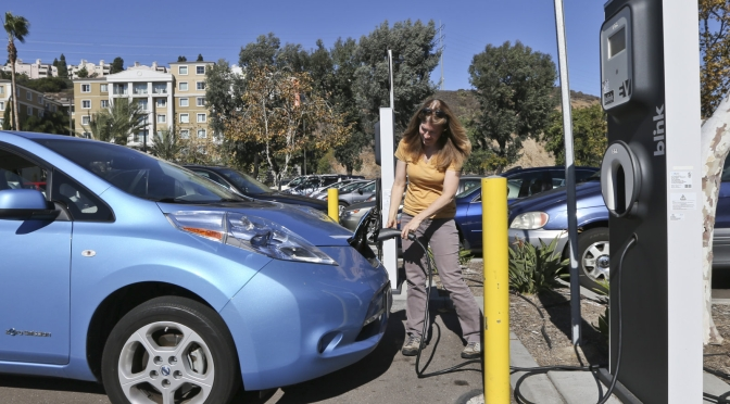 California bill would require more zero-emissions cars