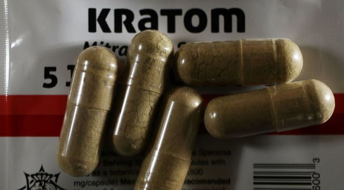 The DEA Now Thinks Kratom Is as Dangerous as Heroin