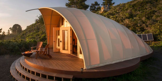 THE AUTONOMOUS TENT IS THE OUTDOOR LUXURY LAIR YOU'VE BEEN WAITING FOR