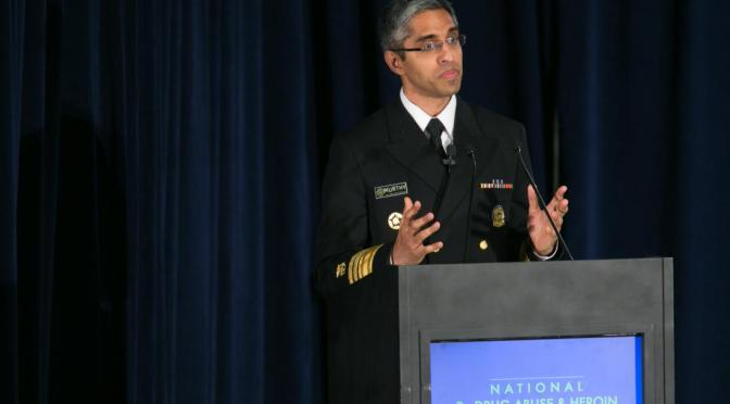 Surgeon General Writes to Every Doctor in U.S. About Opioid Epidemic