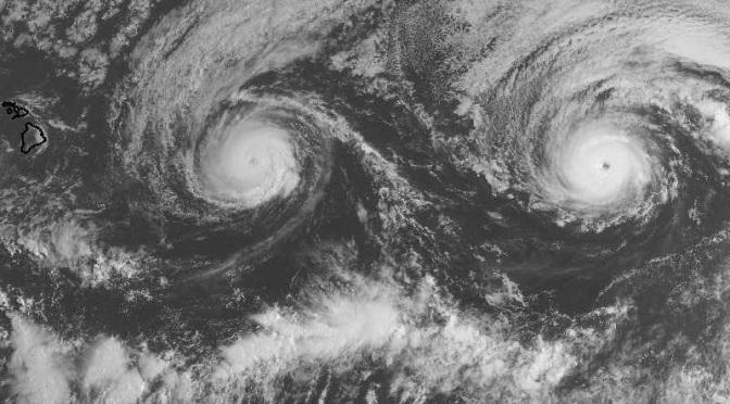 An 'Unprecedented' Pair of Hurricanes Is Churning Toward Hawaii