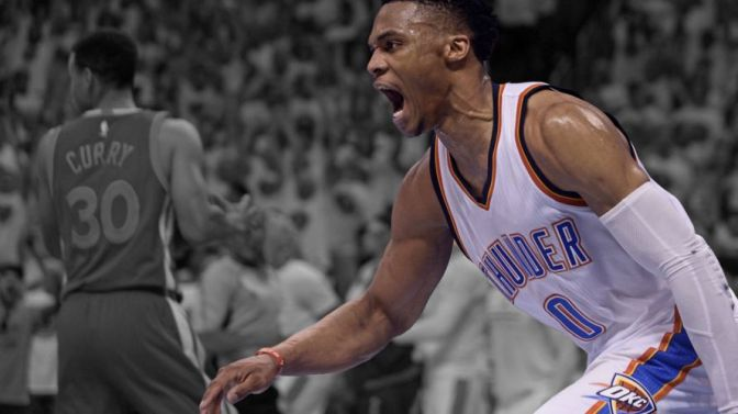 Michael Jordan Says Russell Westbrook Is a Young MJ—He'll Have to Be Now