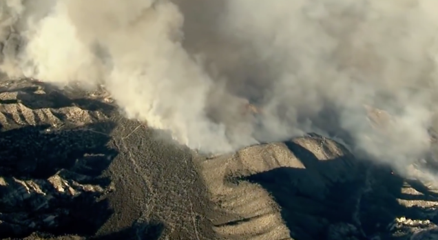 Terrifying California Brushfire Consumes 30,000 Acres in 24 Hours