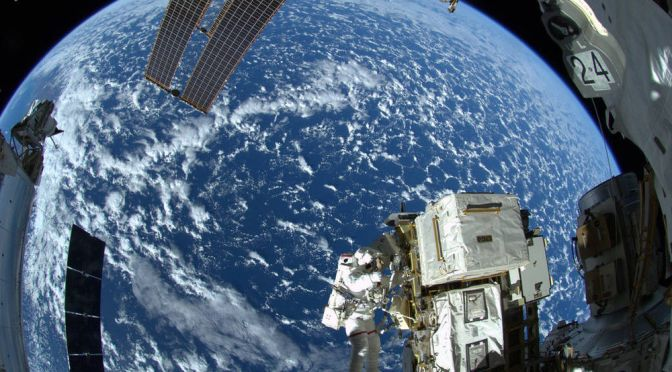 THE INTERNATIONAL SPACE STATION IS GETTING A NEW HD CAMERA