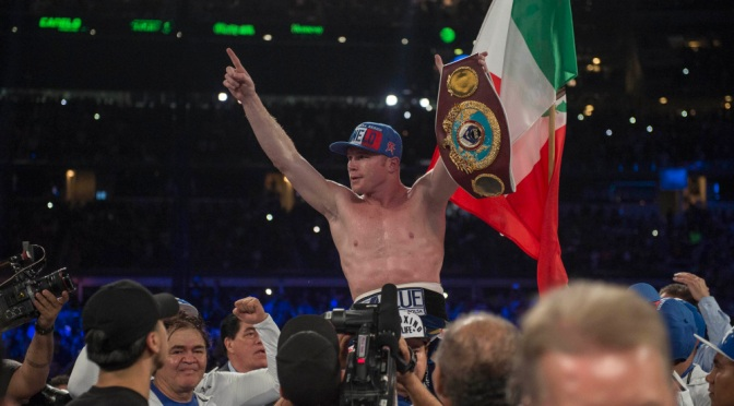 Watch Canelo Alvarez Knock Liam Smith Out With a Devastating Punch to the Body
