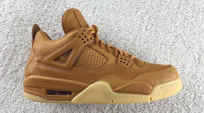 """Wheat"" Air Jordan 4s Release in October"