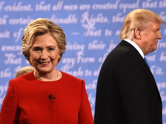 Hillary Clinton Calls Out Donald Trump on Racism, Not Releasing Tax Returns, Lies + More in First Presidential Debate