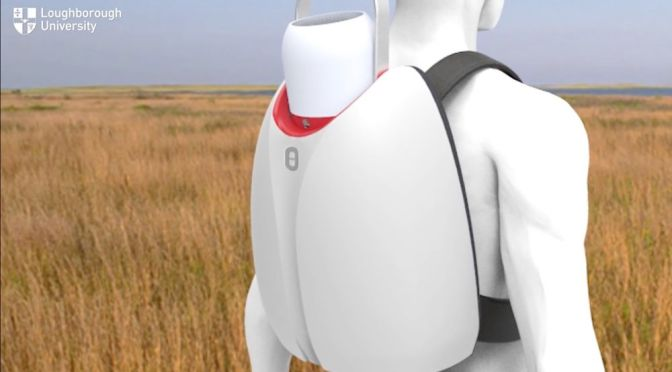 A REFRIGERATOR BACKPACK COULD HELP TRANSPORT VACCINES AND ORGANS
