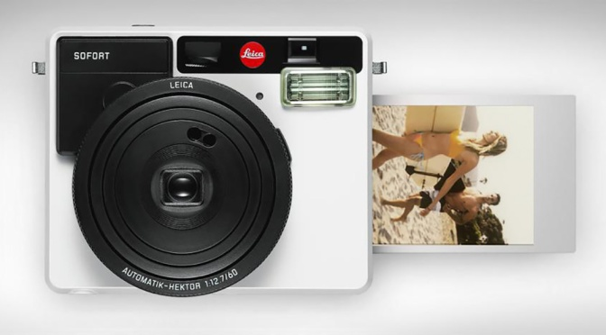 Leica unveils the Sofort instant film camera