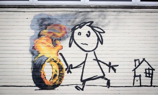 HAS FAMED STREET ARTIST BANKSY'S IDENTITY FINALLY BEEN REVEALED?