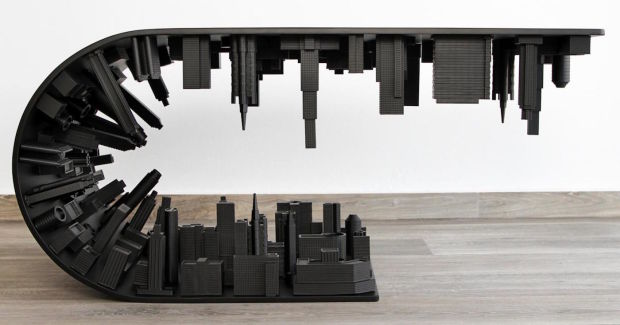 THIS MIND-BENDING 'INCEPTION' COFFEE TABLE IS NOW AVAILABLE IN ALL-BLACK