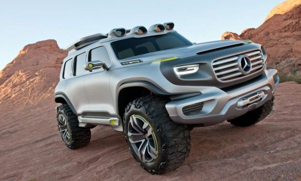 MERCEDES IS PLOTTING A SICK-LOOKING MINI VERSION OF THE G-WAGEN OFF-ROADER