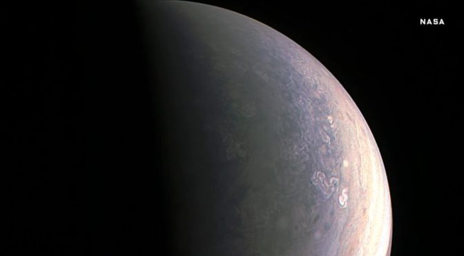 First Look at Jupiter's Gorgeous North Pole
