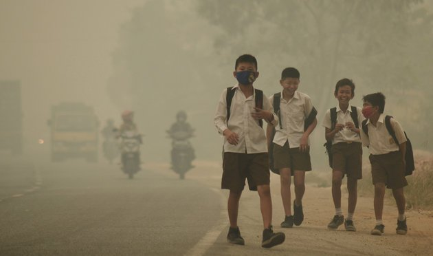 2 Billion Children Are Exposed To Poisonous Air Every Day