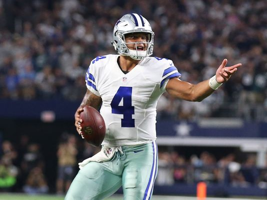 Dak Prescott hits rookie wall, then breaks through it in Cowboys' win