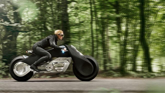 BMW MOTORRAD VISION NEXT 100 IS A REAL WILD RIDE