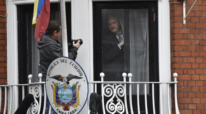Ecuador confirms it cut Assange's internet for US election interference