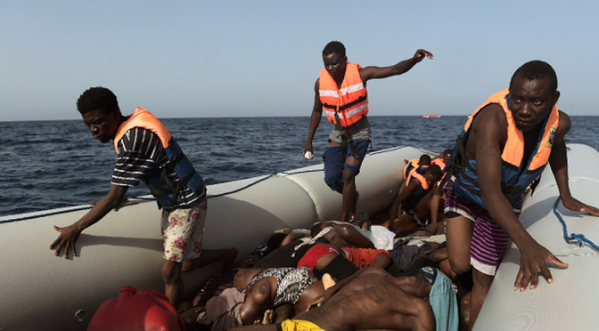 One Of The Last Remaining Routes To Europe For Refugees Is Also One Of The Deadliest
