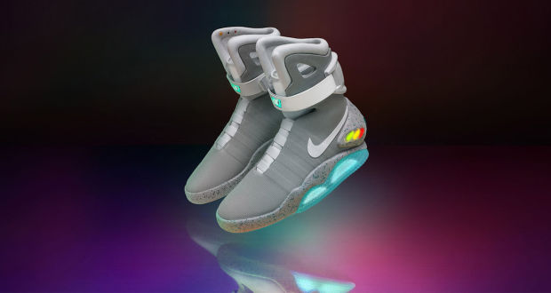 NIKE'S SELF-LACING 'BACK TO THE FUTURE' SNEAKERS CAN NOW BE YOURS