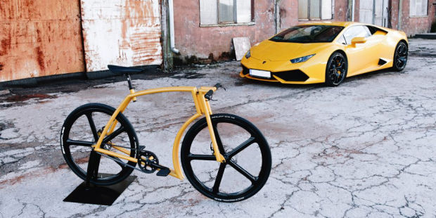 MEET THE LAMBORGHINI OF COMMUTER BIKES