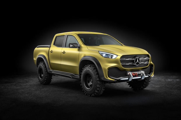 THIS MERCEDES PICKUP TRUCK IS FOR REAL, AND IT'S COMING NEXT YEAR