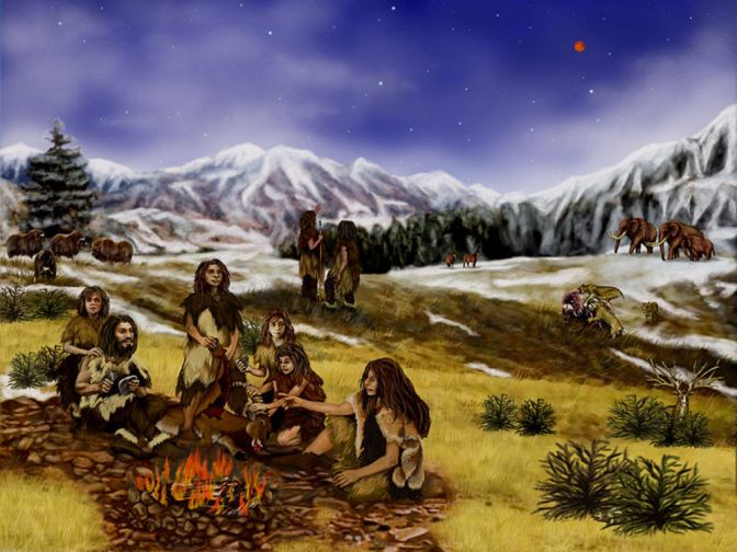 NEANDERTHALS MAY HAVE GIVEN US GENITAL WARTS