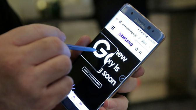 Samsung Halts Production of Galaxy Note 7: Report