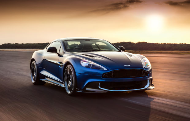 ASTON MARTIN JUST REVEALED AN EVEN FASTER VANQUISH SUPERCAR