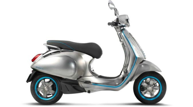 The Classic Vespa Scooter Is Finally Going Electric