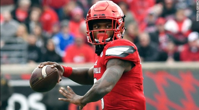 Lamar Jackson Is the Winner of the 2016 Heisman Trophy