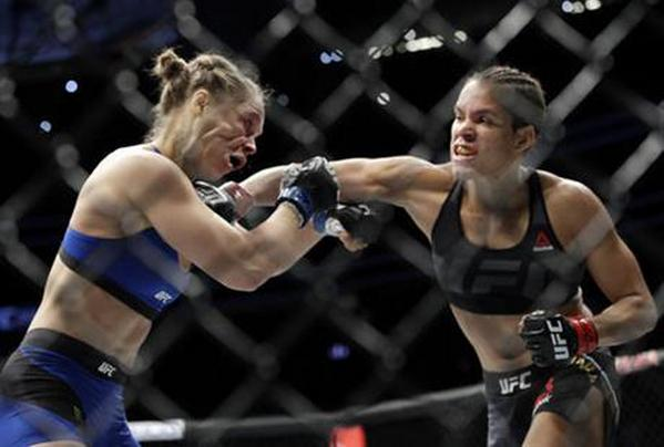 Amanda Nunes TKO's Ronda Rousey In Just 48 Seconds To Retain Her Title At UFC 207