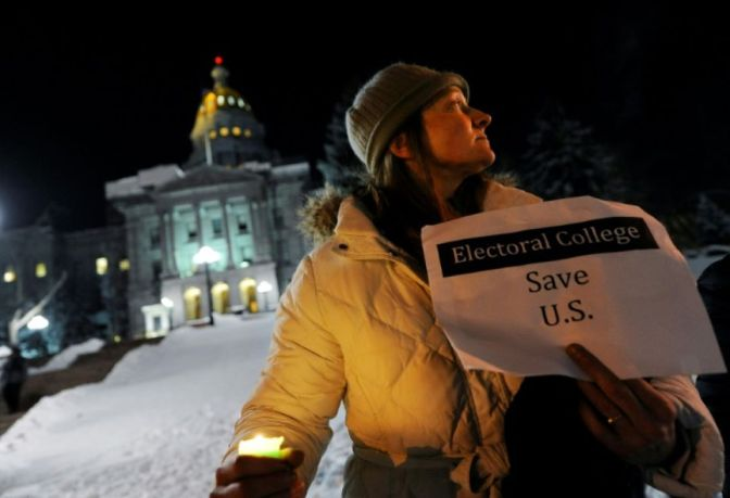 Donald Trump Wins Electoral College to Officially Become President-Elect