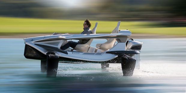 ZIP OVER THE WATER LIKE A BOSS IN YOUR OWN PERSONAL HYDROFOIL