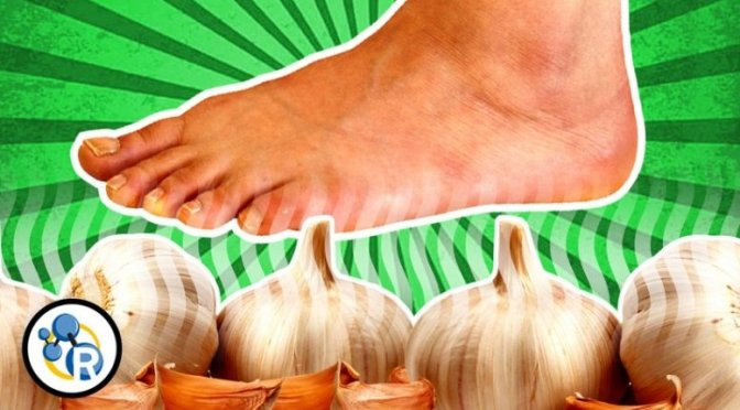 YOU CAN TASTE GARLIC WITH YOUR FEET