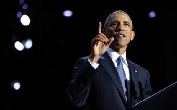 Watch President Barack Obama's Farewell Address