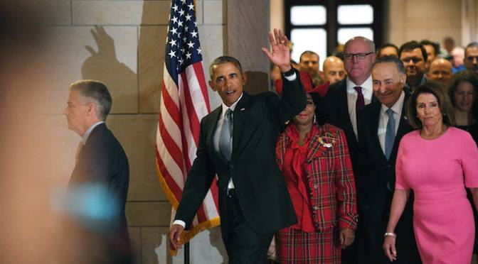 Obama Leaves Office to Record Job Growth