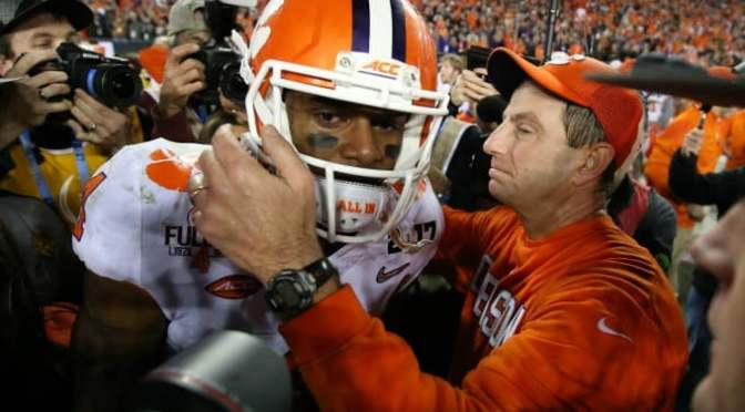 Deshaun Watson Caps Off Clemson Career With Performance for the Ages Against Alabama in Title Game