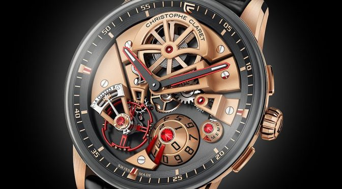 "Christophe Claret Maestro Features New ""3D Memo"" Function"