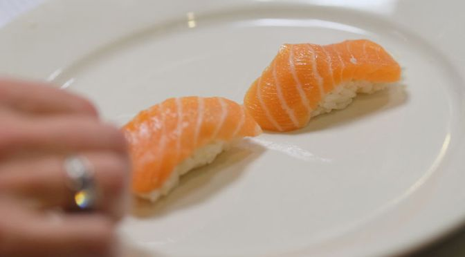 That Sushi May Contain a Tract-Invading Parasitic Tapeworm