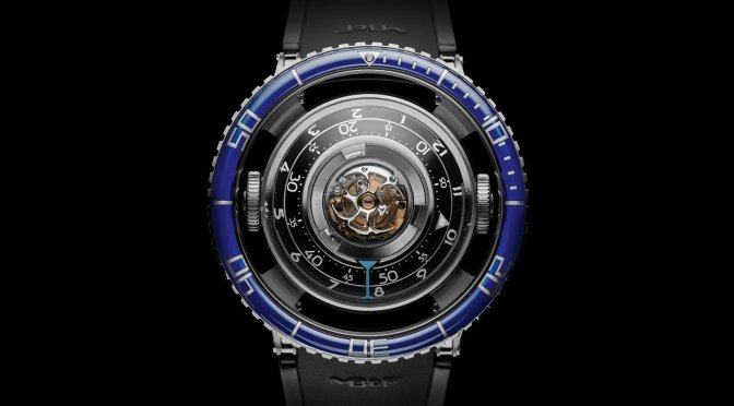 Introducing The MB&F HM7 Aquapod, The First Aquatic Horological Machine