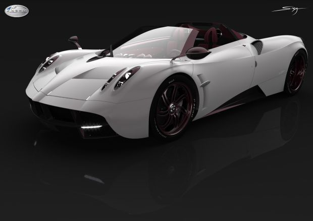 CHECK OUT THE VERY FIRST PICS OF THE SPECTACULAR PAGANI HUAYRA ROADSTER