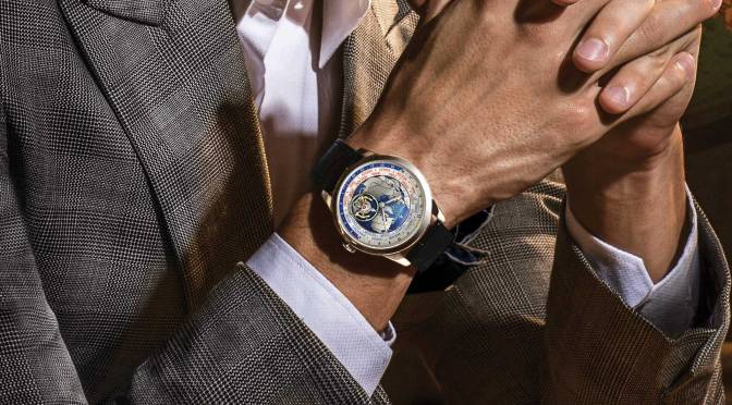 THE GEOPHYSIC TOURBILLON UNIVERSAL TIME