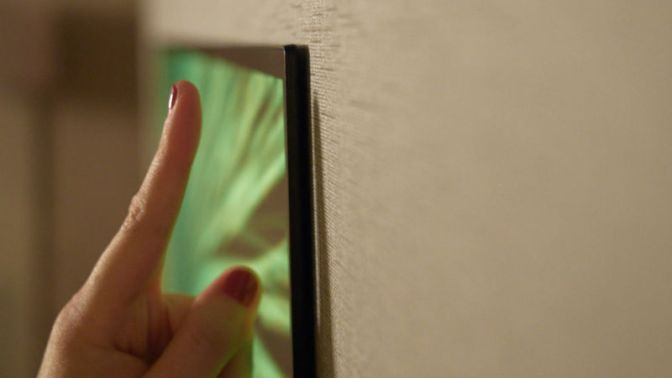 Just Look How Thin LG's New OLED TVs Are