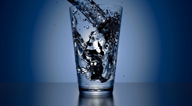 What's in a glass of water?