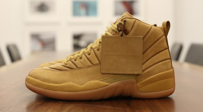 The 'Wheat' PSNY x Air Jordan 12 Is Releasing This Year