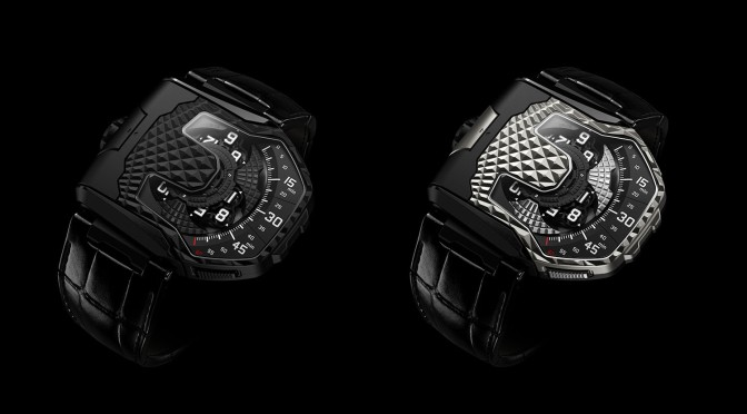 URWERK UR-T8, The New Concept For The 20th Anniversary