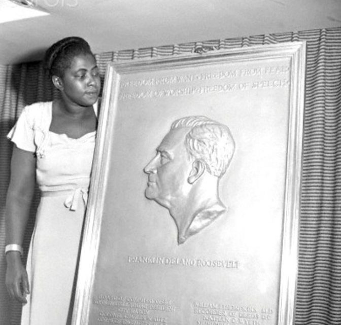 Did You Know This Black Woman's Sculpture of Pres. Roosevelt Is on Every Dime?